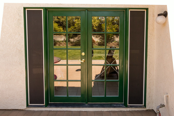 Painted French Door 7-3-14